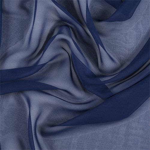 Chiffon 100% Silk Sheer - 5