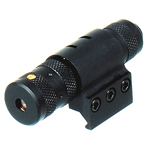 UTG Combat Tactical W/E Adjustable Red Laser with Rings ()