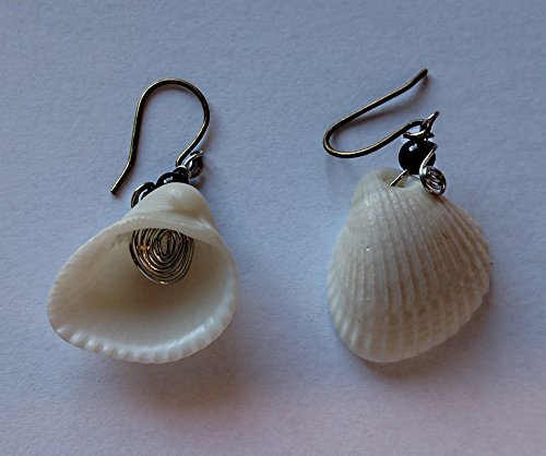 Beads Accent Shell Earrings - 3