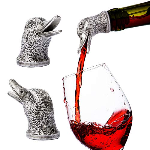 Stainless Steel Animal Wine Pourer & Aerator (Duck) NEW DESIGNS AVAILABLE