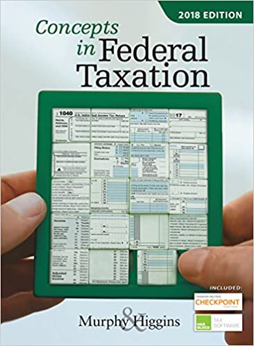 Amazon concepts in federal taxation 2018 ebook kevin e murphy concepts in federal taxation 2018 25th edition kindle edition fandeluxe Gallery