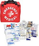 PhysiciansCare by First Aid Only 90361 132 Piece Medical Trauma Kit with Fabric Case