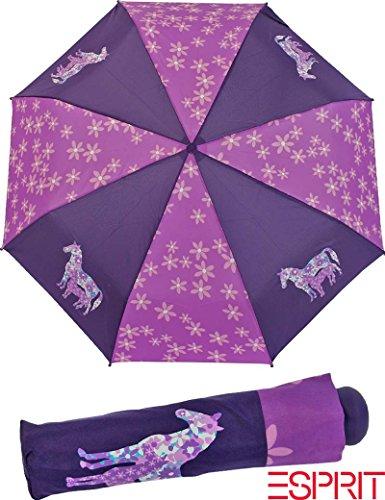 Esprit Kinderschirm Regenschirm Mini Taschenschirm Girl Flowerhorse