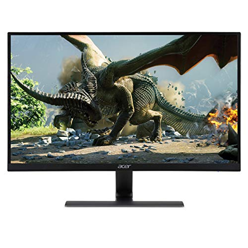 Acer Nitro RG270 bmipx 27 Full HD 1920 x 1080 IPS Ultra-Thin Zero Frame Gaming Monitor with AMD Radeon FREESYNC Technology – 1ms 75Hz Refresh Display, HDMI VGA ports