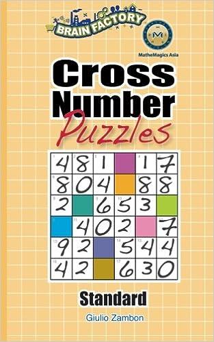 Cross Number Puzzles (Standard): Giulio Zambo, Leong Yew