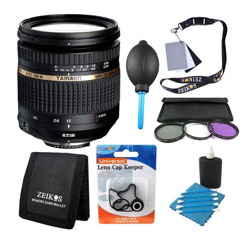 Tamron SP AF 17-50mm F/2 8 XR Di II VC LD Aspherical Lens Kit for Canon EOS