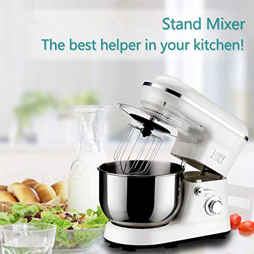 Electric Stand Mixer, 800W 5 Speed Control Food Mixer Food P