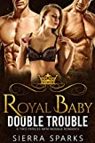 Royal Baby Double Trouble: A Two Princes MFM Menage Romance