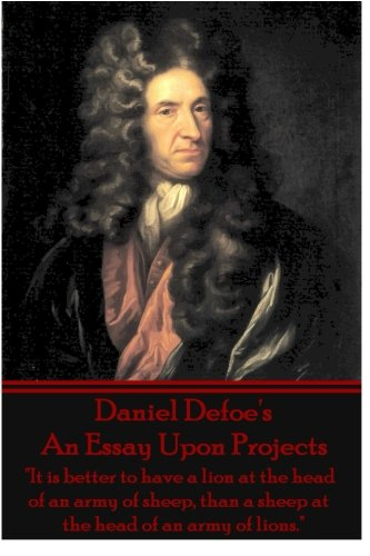 Essay projects daniel defoe