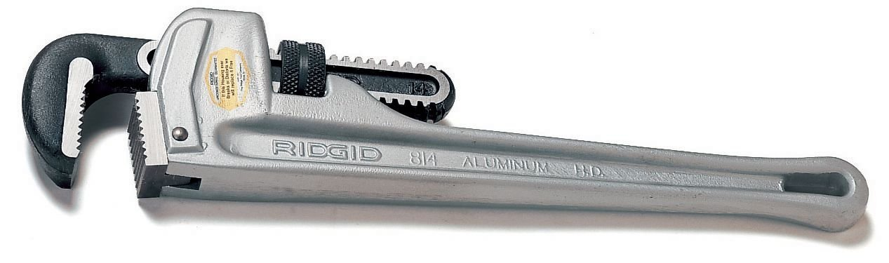 Pipe Wrench Aluminum 14''