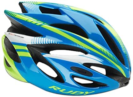 Amazon.com : Rudy Project Rush Helmet Blue 2016 : Sports & Outdoors