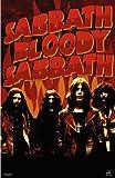 Black Sabbath Poster–Bloody–Rare New Hot 24x 36