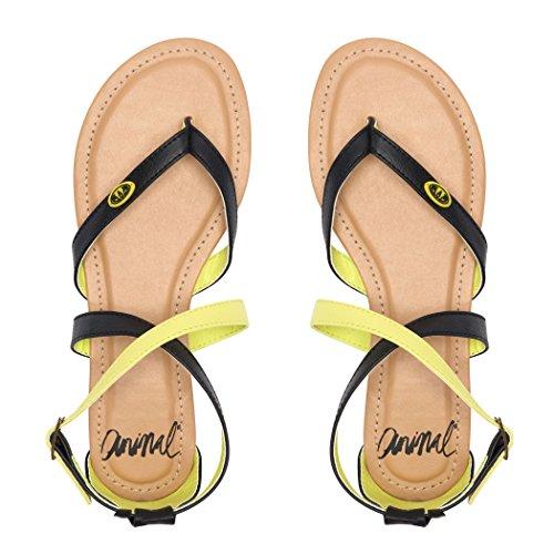 Animal Napa, Women's Flip Flops Aquilone Yellow