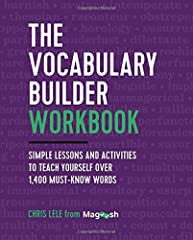 Boost your vocabulary and language skills the easy way ― with simple lesson and activities.Building your vocabulary requires more than flashcards. That's why leading test-prep expert, Chris Lele, developed a new method for introducing new wor...