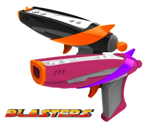Wii Blaster Guns - Children's Limited Edition Space Toy Blasters for Wii/Wii U Game Controller. Black and Pink Blasters! 2 Blaster for $12.99!