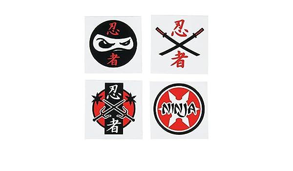Fun Express Assorted Ninja Warrior Temporary Tattoos - 72 ...