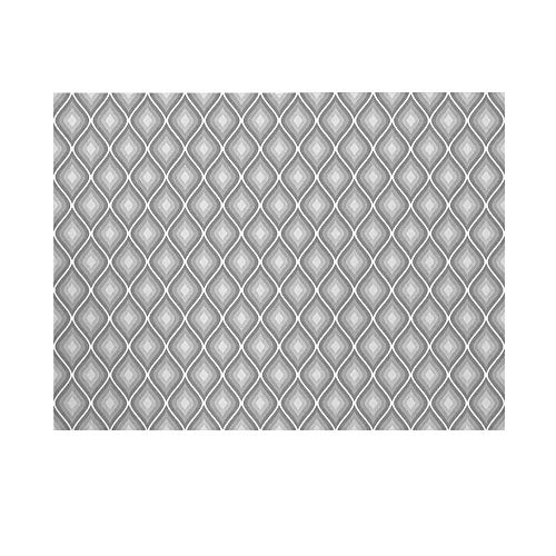 - Grey Decor Photography Background,Rhombus Forms in Victorian Stylized Authentic Dual Linked Bound Interior Angle Shapes Backdrop for Studio,20x10ft