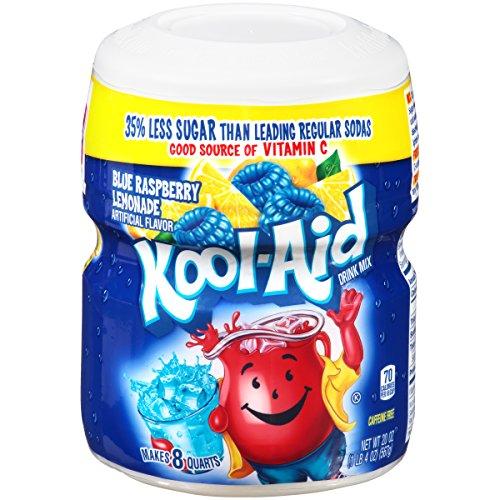 Kool-Aid Ice Blue Raspberry Lemonade Drink Mix (20 oz Canister)