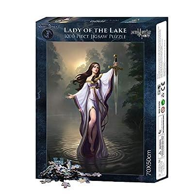 Lady Of The Lake 1000 Pezzi Di Puzzle Multicolore Fantasy Nemesis Now