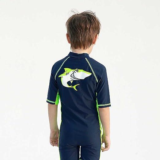 6c135e2bd23b6 Children s Siamese Swimsuit Boy Diving Suit Beach Swimming Pants Kids Gear   Amazon.co.uk  Clothing
