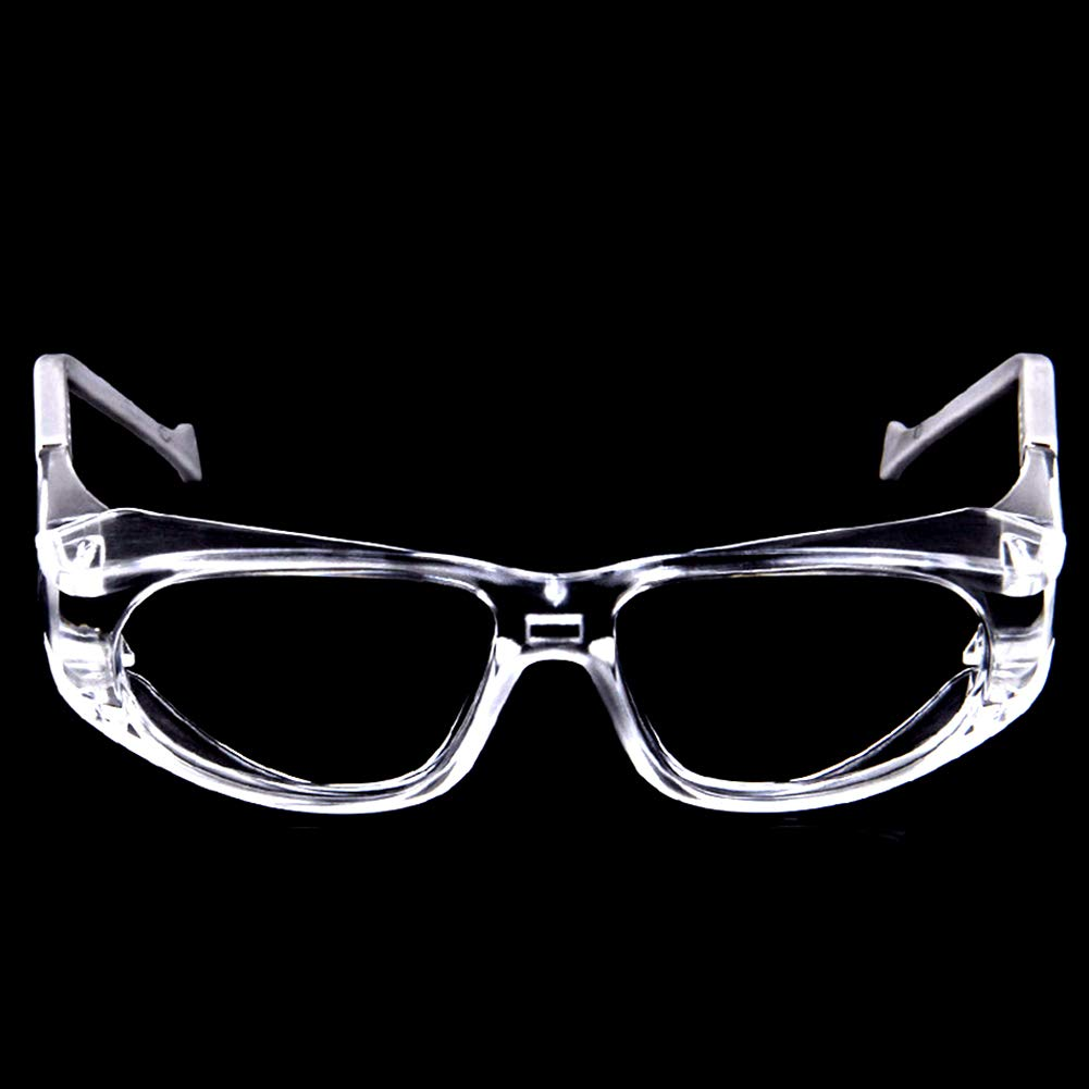 Dnasrivew Anti-UV Eye Protection Protective Safety Riding Glasses Lab Dental Clear Goggles Transparent