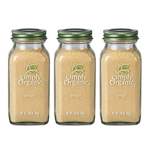 Simply Organic Ginger - Simply Organic Ground Ginger | Certified Organic | 1.64 oz. (3 Pack)