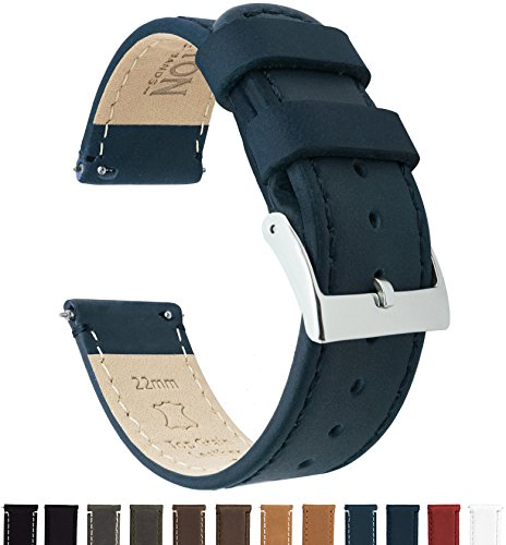 Star Leather Band Watch - Barton Quick Release - Top