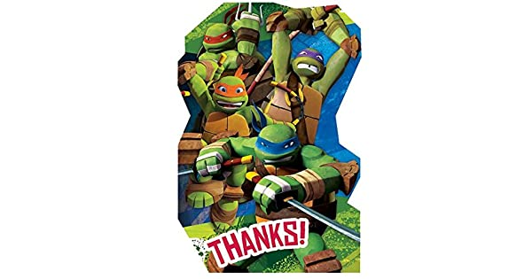 Amazon.com: 3 Paquetes Teenage Mutant Ninja Turtles postal ...
