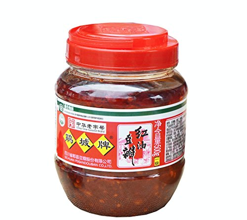 Sichuan Pixian Boad Bean Paste with Red Chili Oil - 17.6 oz (500g) | Hong You Dou - Tofu Soy Sauce