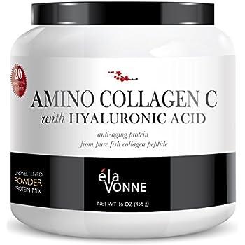 Elavonne amino collagen c with hyaluronic acid for Fish collagen powder