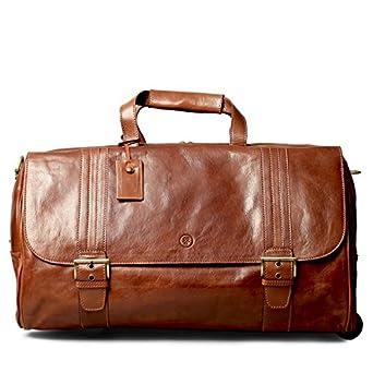 Amazon.com | Maxwell Scott© Luxury Fine Leather Luggage (The DinoL ...