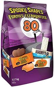 HERSHEY'S Halloween Chocolate Candy Assortment Bulk (Reese, White Chocolate Reese, Cookies 'N' Crè