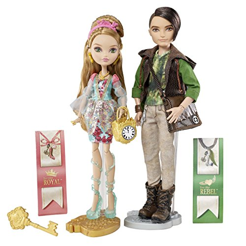 (Ever After High Ashlynn Ella and Hunter Huntsman Dolls)