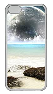 iPhone 5C Case Earth And Sea Water PC iPhone 5C Case Cover Transparent