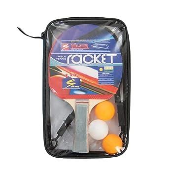 9afd93530 Kit Tenis de Mesa (Ping Pong) 2 Raquetes