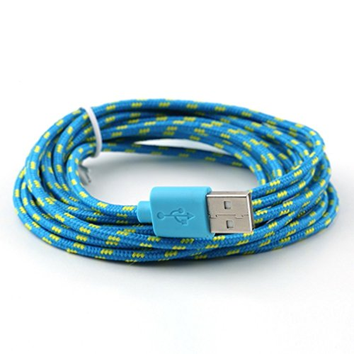 JOMOQ Colorful Braided Charger Android