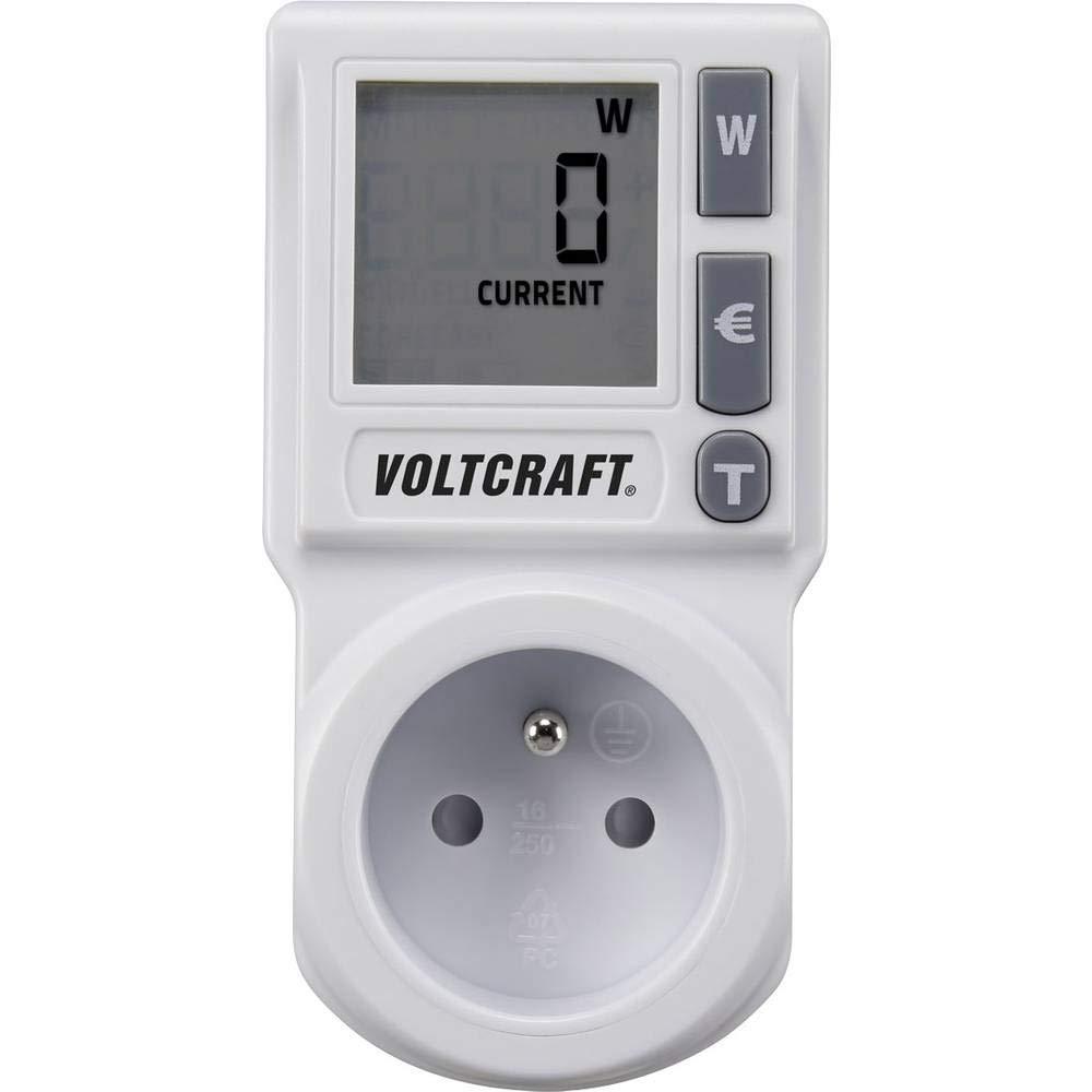 Compteur de consommation VOLTCRAFT EM 1000BASIC FR LCD 0.00-9999 kWh