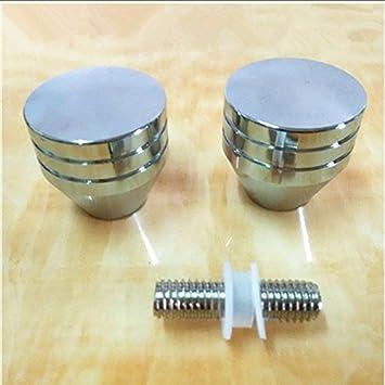 Musuntas 30 mm ducha puerta Perilla de puerta manija de puerta manija de puerta de ducha Puerta de la ducha puerta mango de ducha perilla pomo de la puerta (aleación de aluminio):