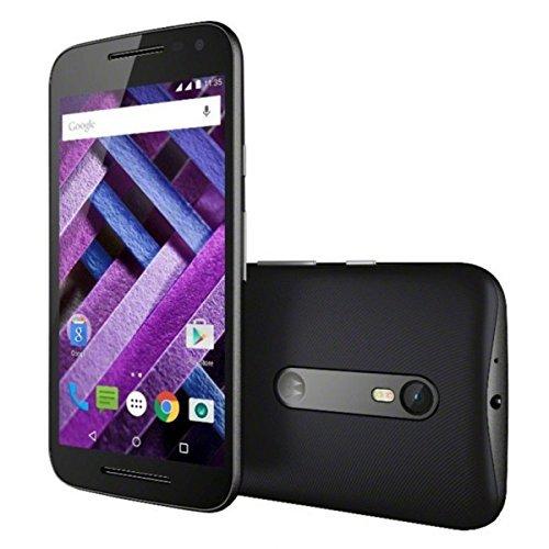 Motorola Moto G3 Turbo Edition XT1556 4G LTE Dual Sim 16GB Octacore Water Resistant 1.5 Ghz Factory Unlocked (International Model)