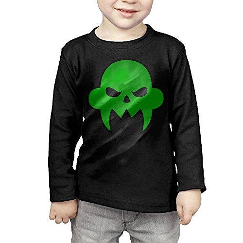 [MHGJ Kids Unisex Homestuck Comic Long Sleeve Shirts 5-6 Toddler Black] (John Homestuck Costumes)