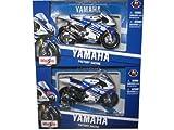 99 lorenzo - 2012 GP Yamaha Factory Racing 2 Motorcycle Set #11 & #99 Lorenzo / Spies 1/18 by Maisto 34583