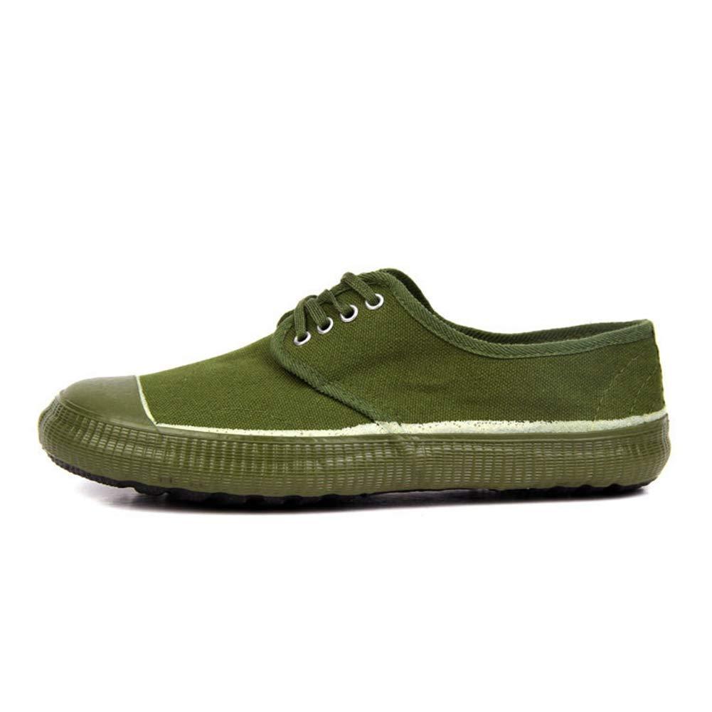 - QIAO Chaussures de libération de l'assurance du Travail pour Hommes et Femmes, Chaussures d'entraînement pour l'entraînement en Plein air Militaire, vêtements antidérapants Absorption des Chocs,45