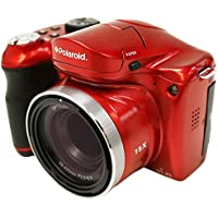Polaroid IE1530W-RD-BX-FHUT 18 Digital Camera with 3-Inch LCD (Red)