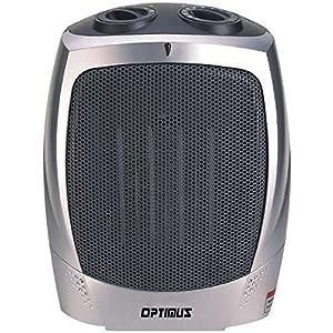 Optimus H-7004 Portable Ceramic Heater with Thermostat