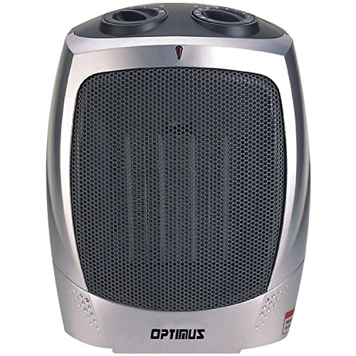 Optimus H-7004 Portable Ceramic Heater with Thermostat