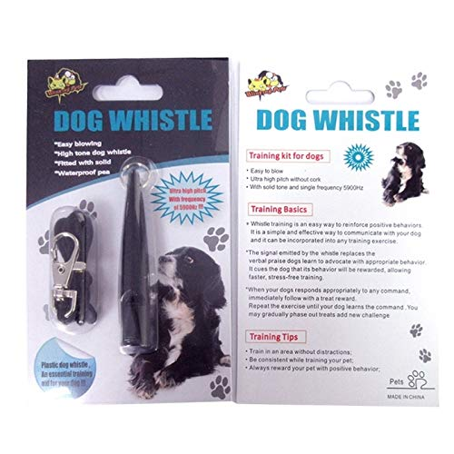 VAXT Random Gloss Delivery, Aim 10 PCS Dog Horse Whistle Stop Barking Mute Pet Training Whistle with Key Chain by VAXT (Image #4)