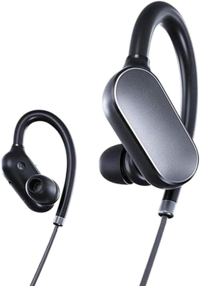 Xiaomi Mi Sports - Auriculares Deportivos con Bluetooth, Color Negro, 13.8 x 11.4 x 3 cm