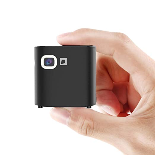 Mankvis Mini proyector Inteligente portátil Micro teléfono ...