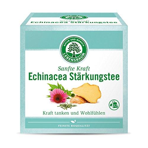 Lebensbaum Sanfte Kraft Echinacea Stärkungstee - 12 x 2 g Bio, vegan