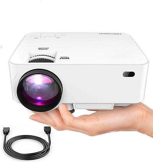 SWEET Profesional Proyector LED Proyector De Película con 200 ...